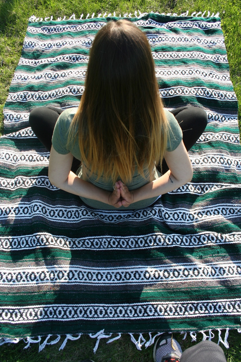 You can check out the Evergreen Falsa Blanket in the Shop tab at the top of the page!