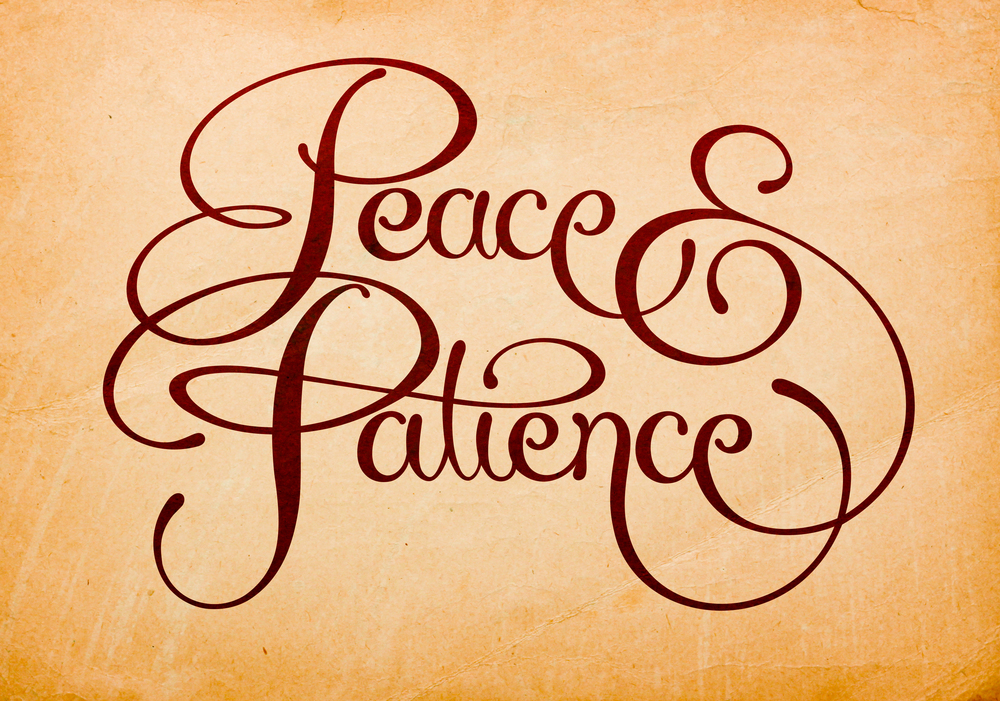 Peace-and-Patience-Lettering