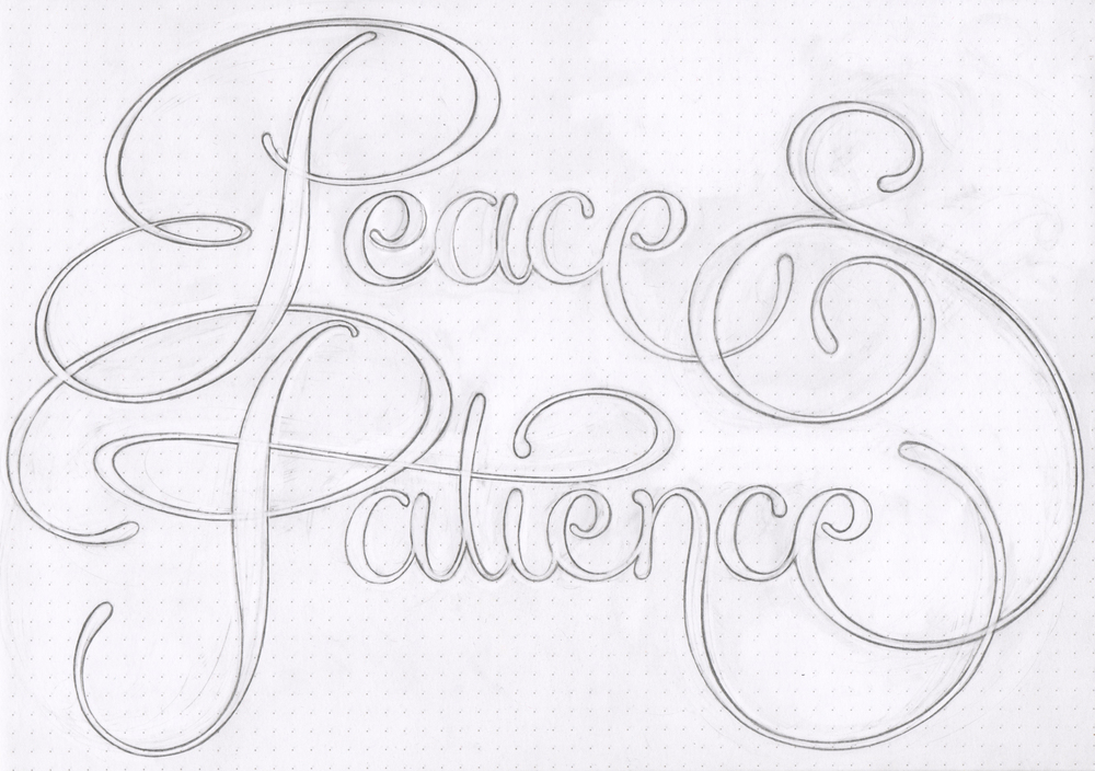 Peace-and Patience-Pencil