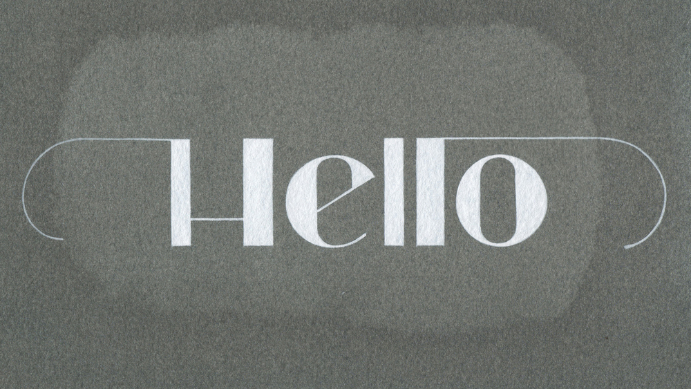 Hello-Lettering