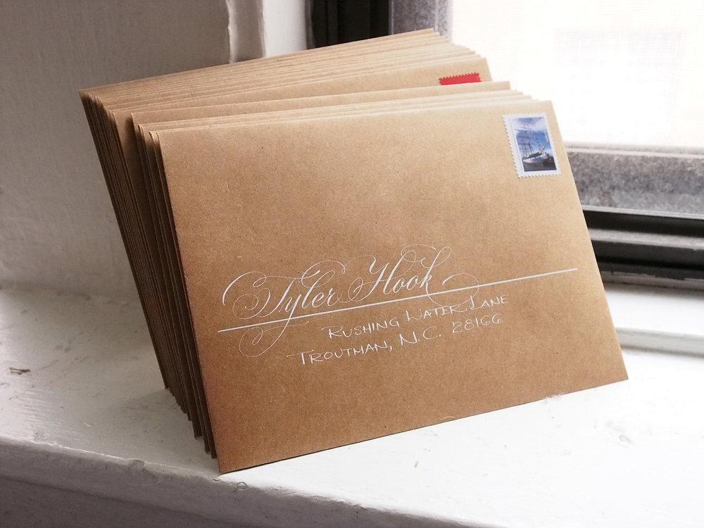 Paired Script Envelopes