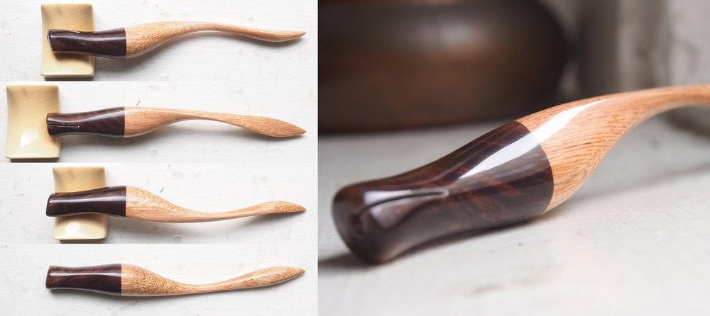 Burled Walnut and Blonde Stock Wood
