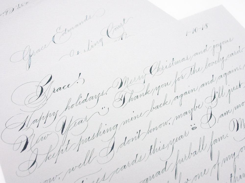 Spencerian Correspondence