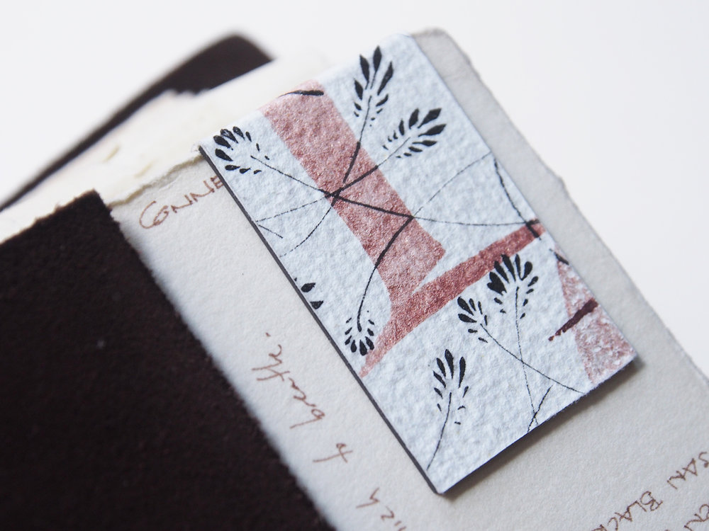 Hand Made Magnetic Bookmark