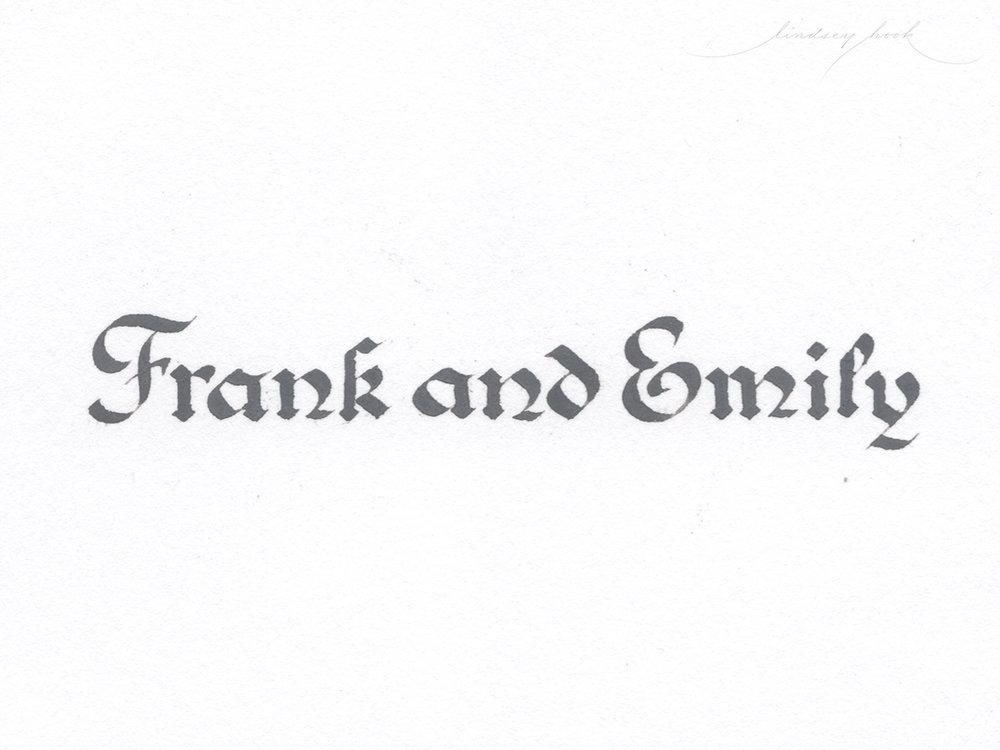 Medieval Roundhand Broad Edge Engrossing Script