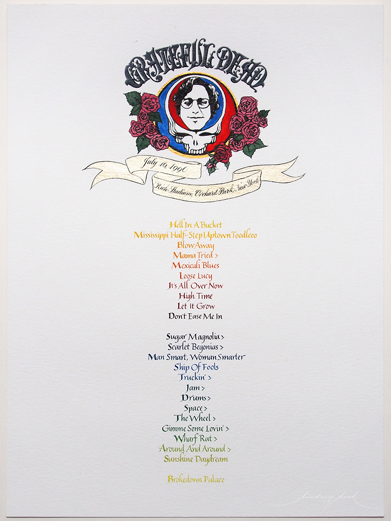 Grateful Dead Set List #1