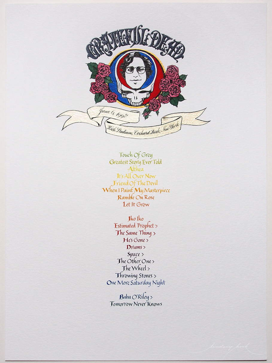 Grateful Dead Set List #2