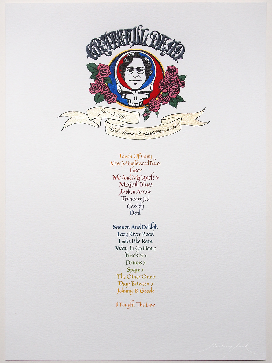 Grateful Dead Set List #4