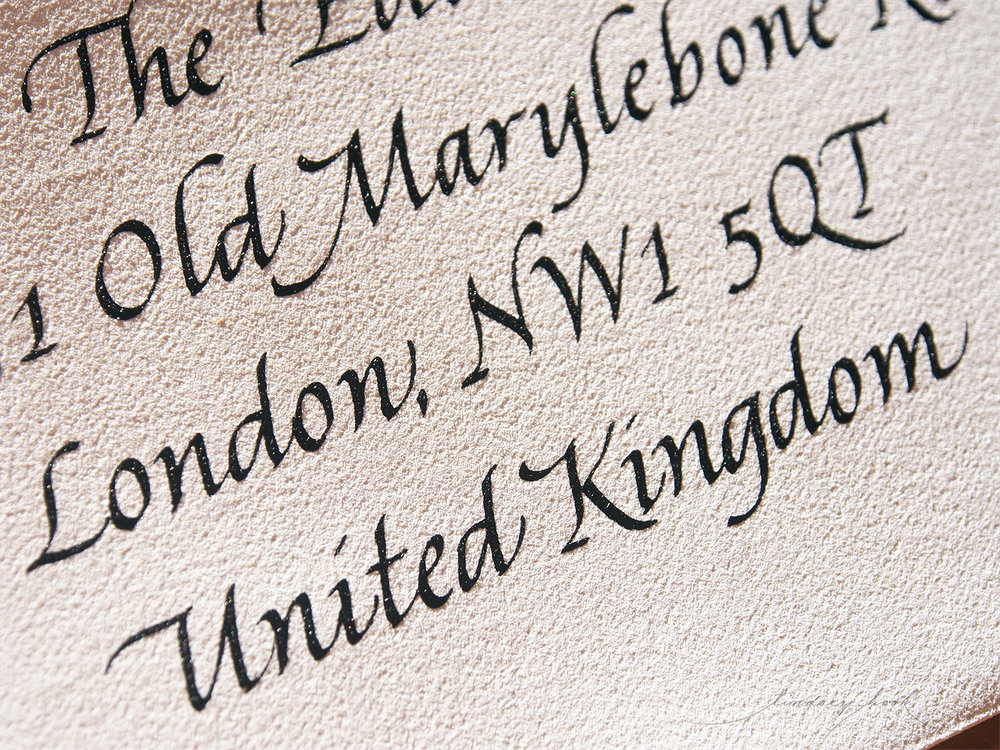 Italic Outer Envelope