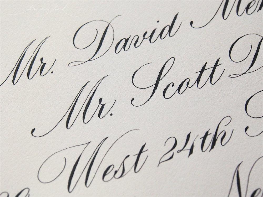 Parfumerie Text Outer Envelopes