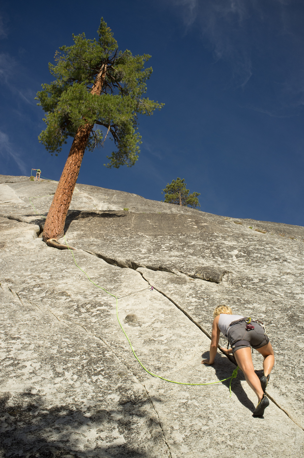 bnna seconding  tree route, at dome rock