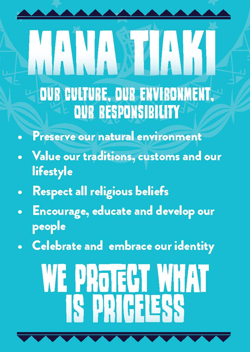 Click here for a quick summary of the Kia Orana Values.