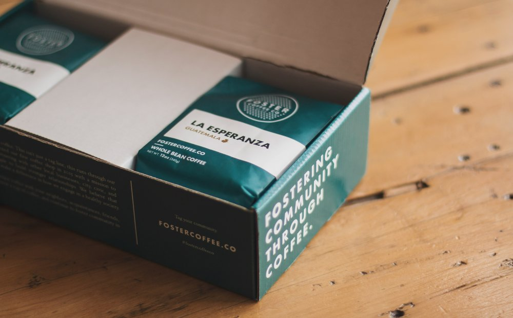 INTRODUCING COFFEE SUBSCRIPTIONS  Shipped right to your door  Sign up here