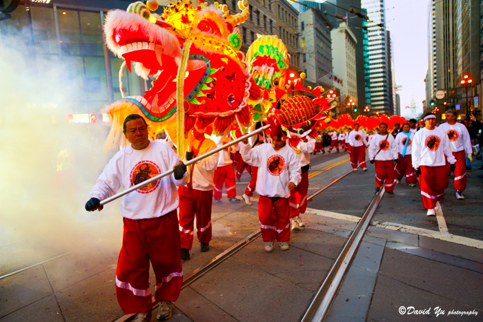 Golden Dragon in the 2009 parade. Image courtesy of David Yu photography.