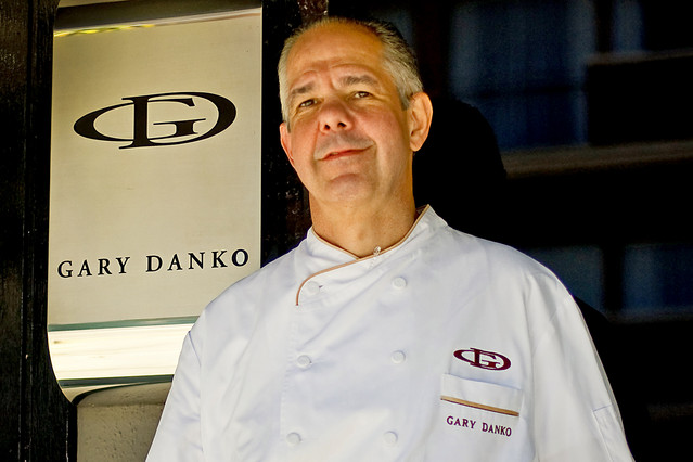 Chef Gary Danko, whose restaurant ranked #6 on Yelp's Top 100 in the nation.