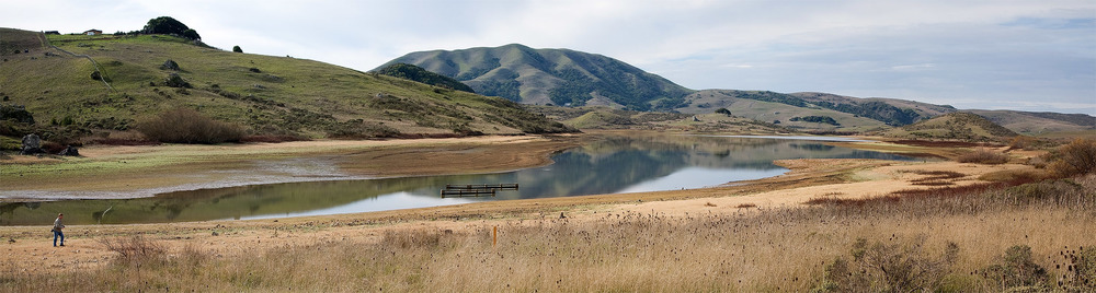 Nicasio Reservoir in 2007. Photo credit: iso110.net