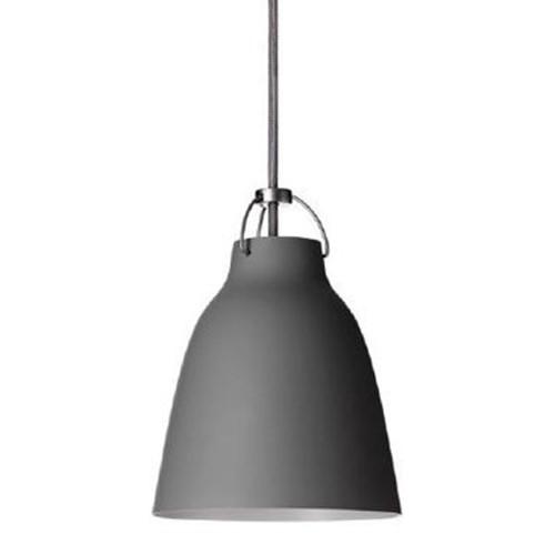 Lightyears-Caravaggio matte gray pendant light.