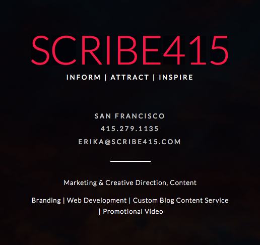 Learn more about SCRIBE415.