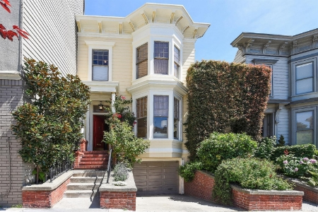 2244 Steiner St , Pacific Heights  |   $6,000,000 | $1,714/SqFt  14% over list, 2 days on market|  3,500 SqFt | 4 bed/4.5 baths