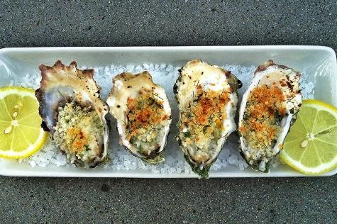 Fresh oysters on West Marin Food & Farm Tour
