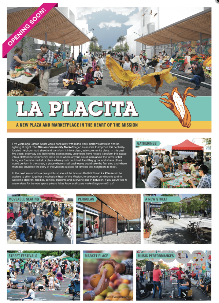From the Mission Community Market website, promoting La Placita.