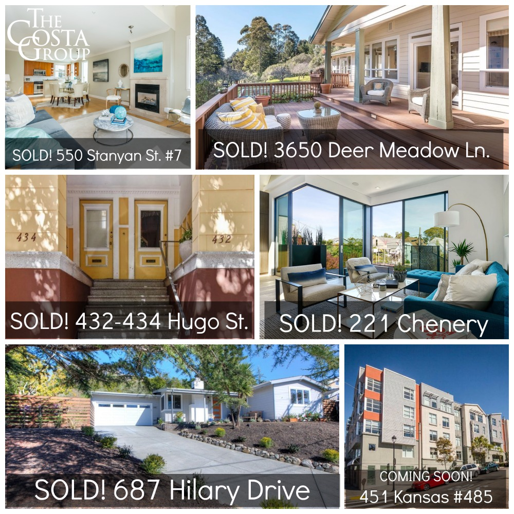 Recent sales and coming soon properties at a glance. More details below!