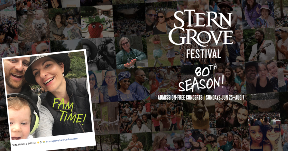 Images courtesy of  Stern Grove Festival website