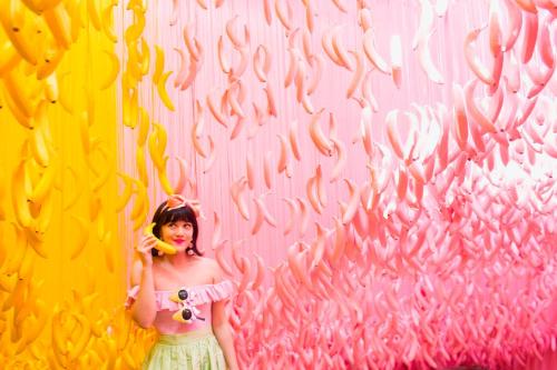 Photo from Los Angeles exhibit. Photo credits Katie Gibbs.