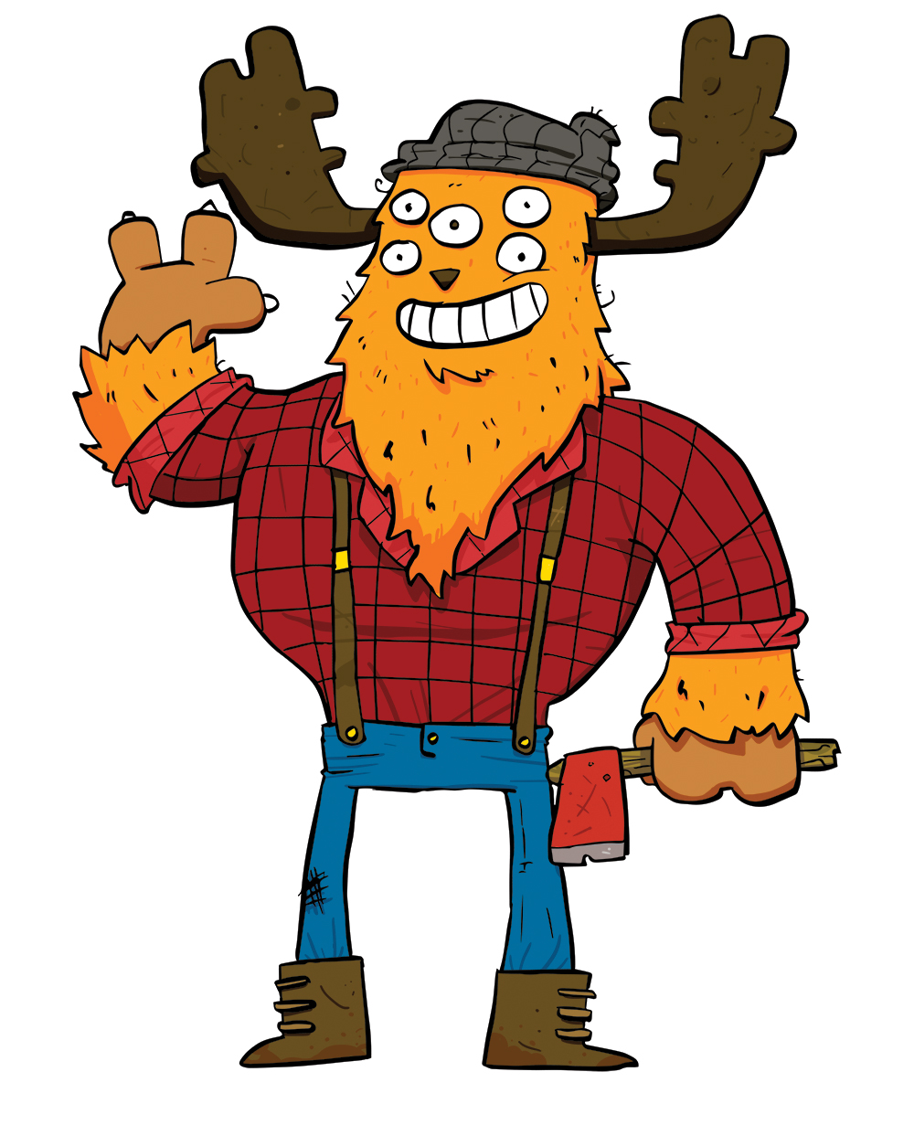 Lumberjack Monster