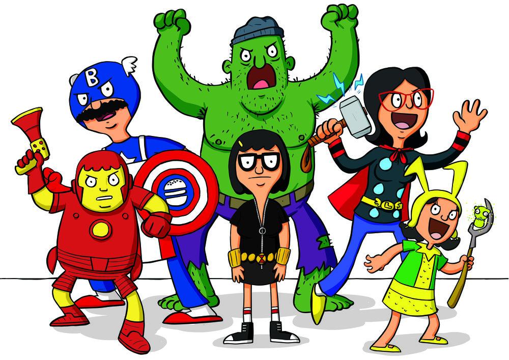 Bob's Avengers!