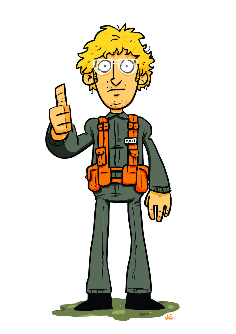 Matt the Radar Technician