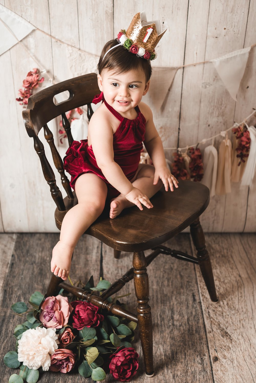 Rompers and tiaras….my favorite lounging outfit!!! I think Reese would agree!