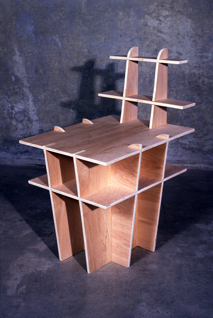 24 - side table and stool