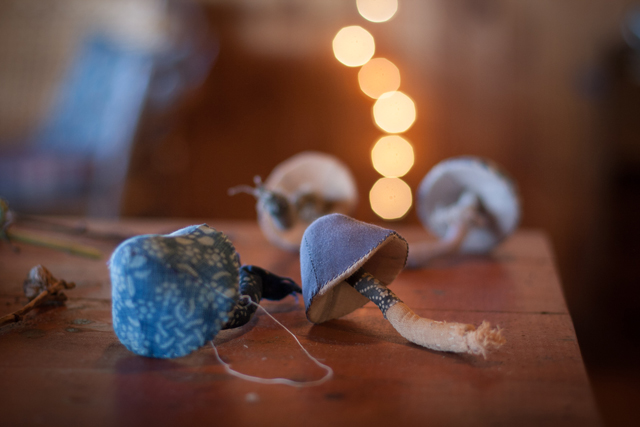 Toadstools by Ann Wood. Photographs from www.annwoodhandmade.com