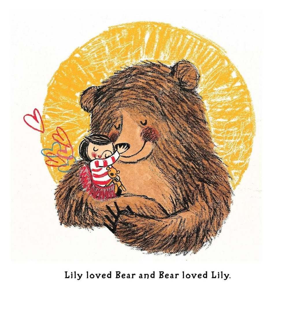 Lily and the Bear - illustrated by Lisa Stubbs