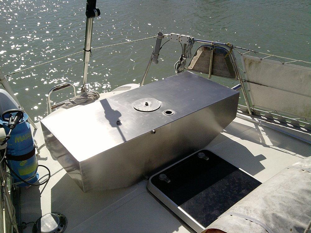 Accesorios para embarcaciones de recreo en acero inoxidable AISI 316L resistente al ambiente marino