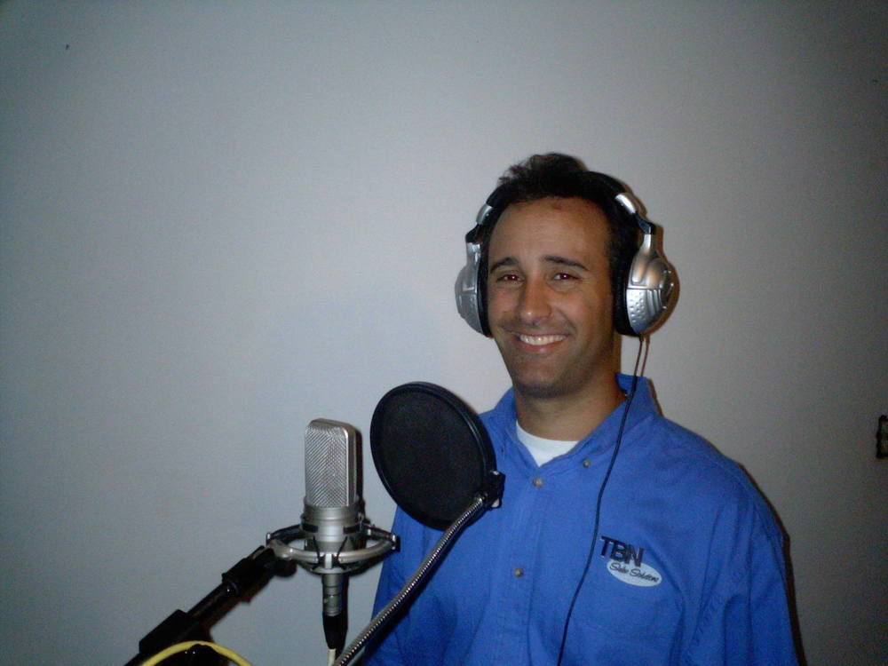 Todd recording in studio CD series