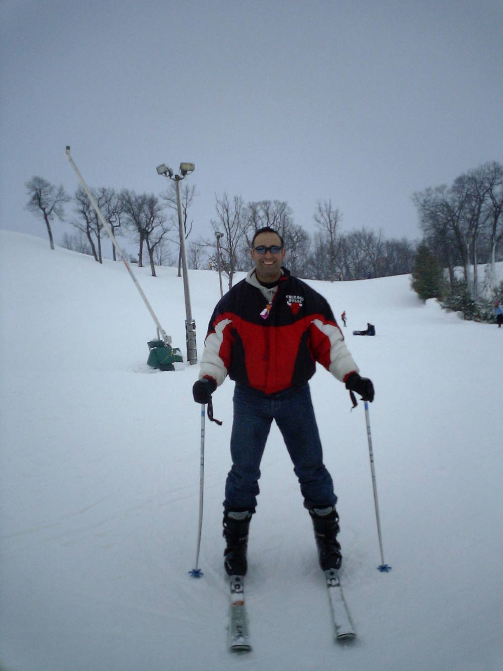 Todd skiing in Lake Geneva