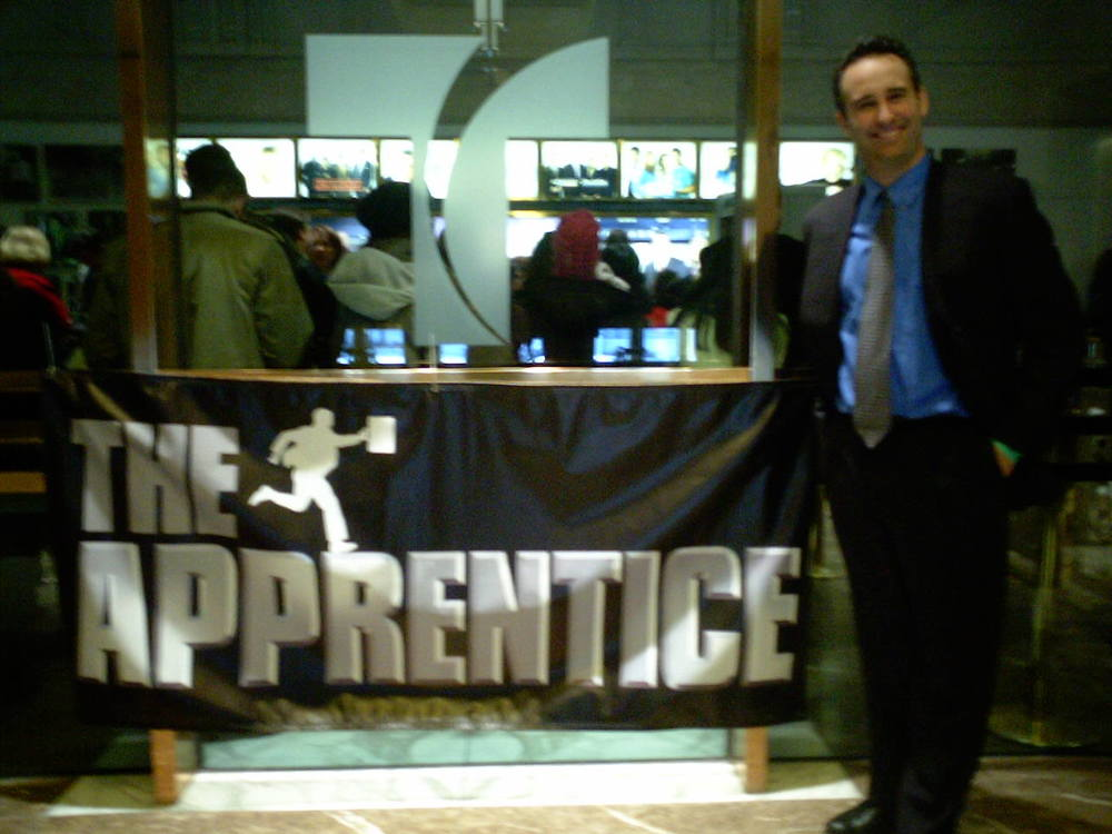 Todd trying out for The Apprentice