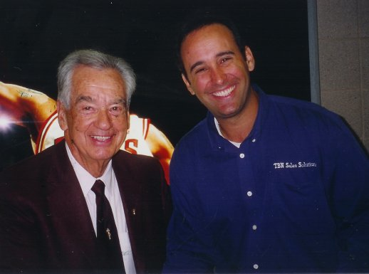 Todd and legendary sales speaker Zig Ziglar