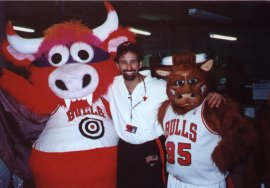 Mascot coordinator for the Chicago Bulls