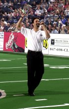 Master of Ceremonies for the Chicago Rush Arena Football Team