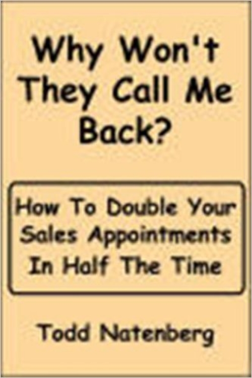 Why Won't They Call Me Back? (E-Book)  $9.99