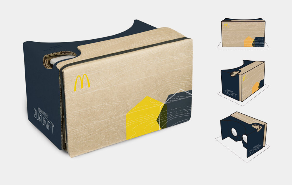 Custom Google cardboard designs