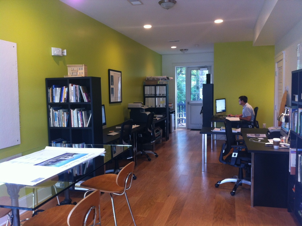 2015 | Stop in to visit the Rush Dixon Architects studio at 712 S. Shelmore Blvd #102 in Mount Pleasant.
