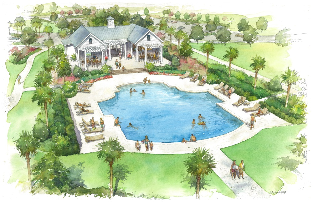 2013  | Amenity Center design for the Cane Bay neighborhood in Summerville.