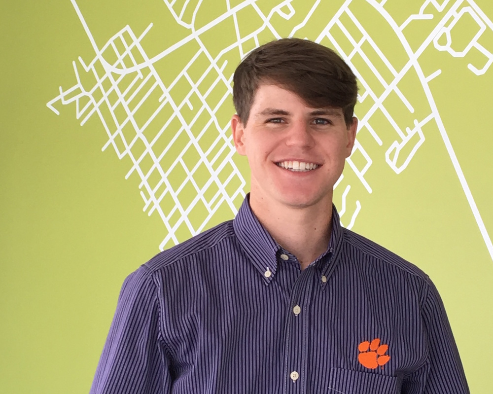 Tyler McKenzie has a Bachelor of Arts in Architecture with a minor in Package Design from Clemson University.