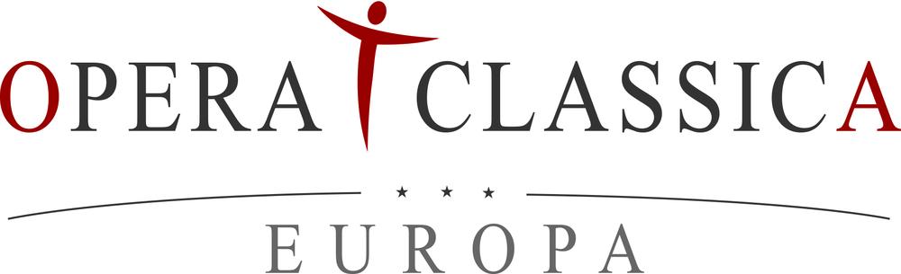 Sponsoren Logo Opera Classica Europa. Wiesbadener Burgfestspiele.