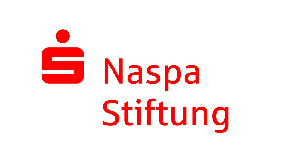Sponsoren Logo Naspa Stiftung. Wiesbadener Burgfestspiele.