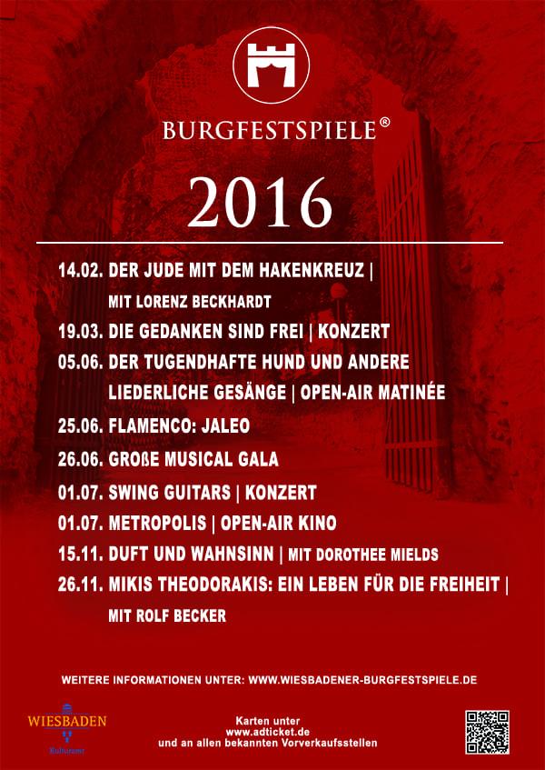 1. Jahresplakat 2016